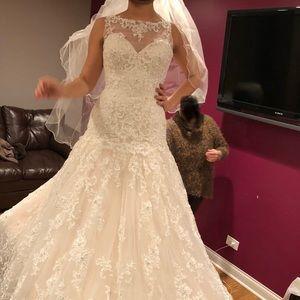 Wedding dress size 4/6
